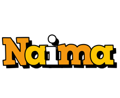Naima cartoon logo