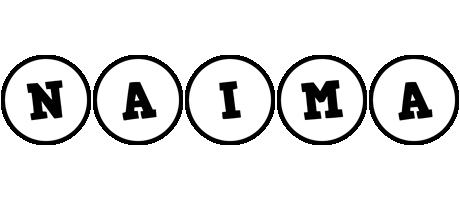 Naima handy logo