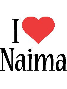 Naima i-love logo