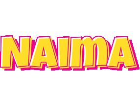 Naima kaboom logo