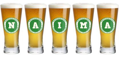 Naima lager logo