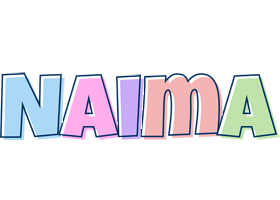 Naima pastel logo