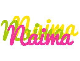 Naima sweets logo