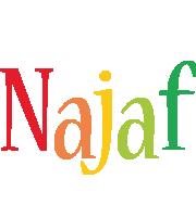 Najaf birthday logo