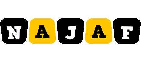 Najaf boots logo