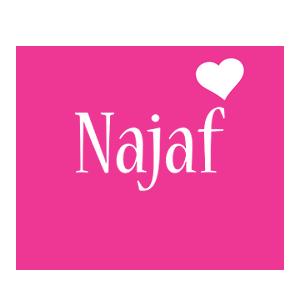 Najaf love-heart logo