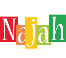 Najah colors logo