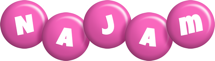 Najam candy-pink logo