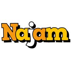 Najam cartoon logo