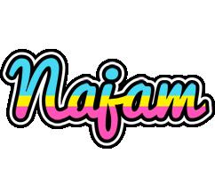 Najam circus logo
