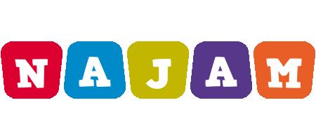 Najam daycare logo