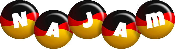 Najam german logo