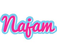 Najam popstar logo