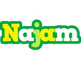 Najam soccer logo