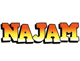 Najam sunset logo