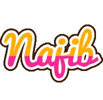 Najib smoothie logo