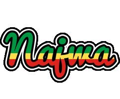 Najwa african logo