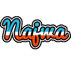 Najwa america logo