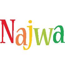 Najwa birthday logo