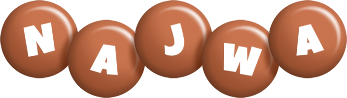 Najwa candy-brown logo