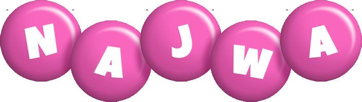 Najwa candy-pink logo