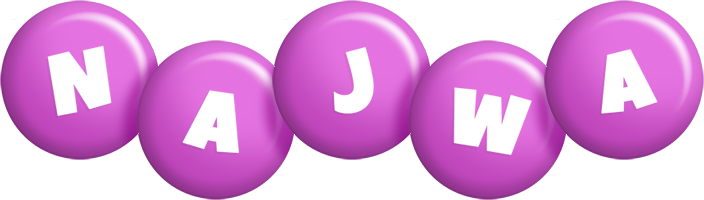 Najwa candy-purple logo