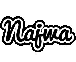 Najwa chess logo