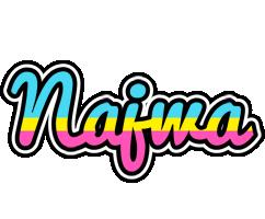 Najwa circus logo