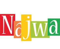 Najwa colors logo