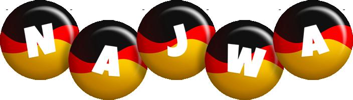 Najwa german logo