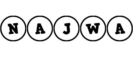 Najwa handy logo