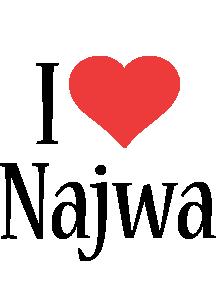 Najwa i-love logo