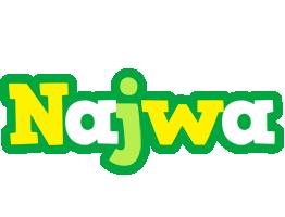 Najwa soccer logo
