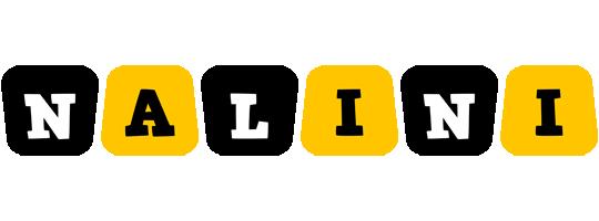 Nalini boots logo