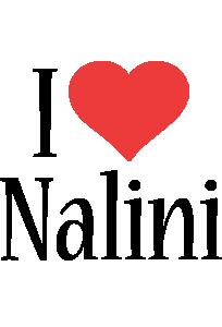 Nalini i-love logo