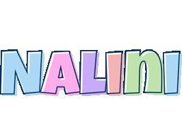 Nalini pastel logo