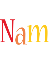 Nam birthday logo