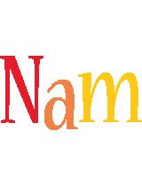 Nam birthday logo