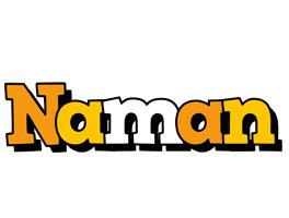 Naman cartoon logo