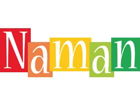 Naman colors logo