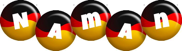 Naman german logo
