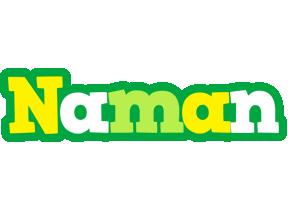 Naman soccer logo