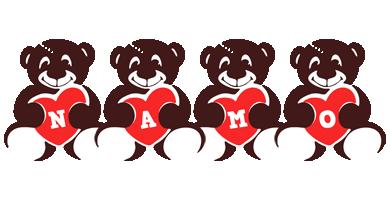 Namo bear logo