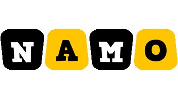 Namo boots logo
