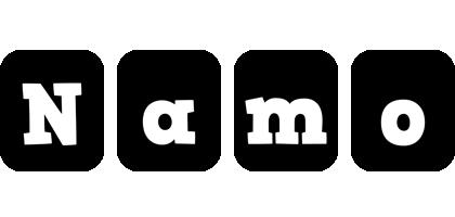 Namo box logo