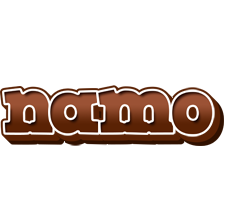 Namo brownie logo