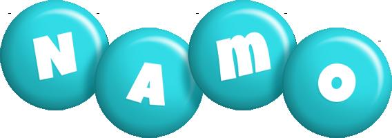 Namo candy-azur logo