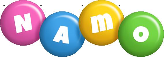 Namo candy logo