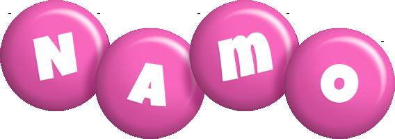 Namo candy-pink logo