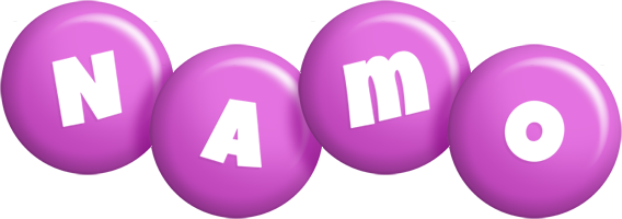 Namo candy-purple logo